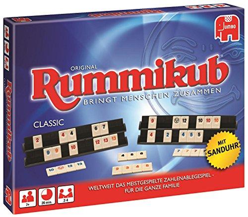 Jumbo Spiele 17571 - Original Rummikub Classic - Gesellschaftsspiel - Ab 7 Jahren
