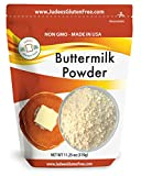 Judee's Buttermilk Powder 11.25oz: NonGMO, Made in USA, Perfect for Pancakes, Biscuits, Ranch Dressing, Fried Chicken… (24 oz value size available also)