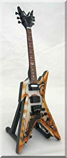 DIMEBAG DARRELL Miniature Guitar Razorback Rustic Pantera