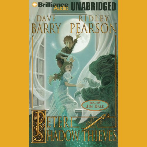 Peter and the Shadow Thieves cover art