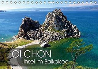 Olchon - Insel im Baikalsee (Tischkalender 2019 DIN A5 quer): Im oestlichen Sibirien liegt der tiefste Suesswassersee der Erde: der Baikal. Mittendrin Olchon als groesste Insel und beliebtes Reiseziel. (Monatskalender, 14 Seiten )