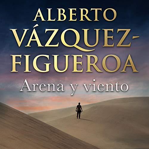 Diseño de la portada del título Arena y viento