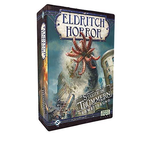 Eldritch Horror - Städte in Trümmern - Erweiterung Brettspiel | DEUTSCH | Lovecraft Horror