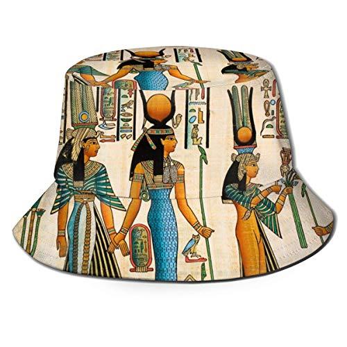 Henry Anthony Alte Ägypten Szene Frauen Frauen Männer Fischer Mützen Boonie Cap Outdoor Sommer Cap Golf Cap Running Cap
