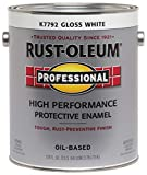 RUST-OLEUM K7792-402 K7792402 Professional Gallon Enamel, Whites|Gloss White, 128 Fl Oz