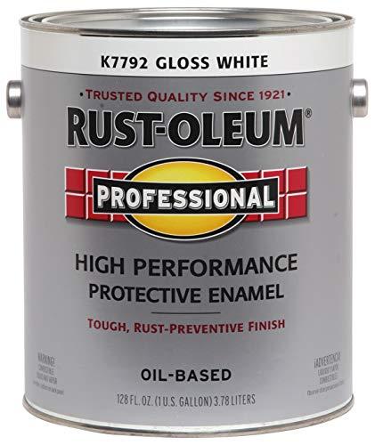 RUST-OLEUM K7792-402 K7792402 Professional Gallon Enamel, 128 Fl Oz (Pack of 1),...
