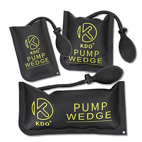 KDO 3PCS Air Wedge Bag Pump Durable Shim Bag Professional Leveling and Alignment Kit for Home Use