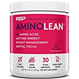 RSP AminoLean - All-in-One Pre Workout, Amino Energy, Weight Management Supplement with Amino Acids, Complete Preworkout...