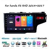 Car Stereo Sat Nav Double Din Head Unit Radio for Honda Fit RHD 2014~2017 GPS Navigation 9 Inch Multimedia Player Video Receiver Carplay DSP RDS OBD DAB -  JOYING