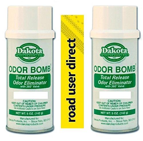 Dakota 2 eliminadores olores Bomba Olor Coche - Eliminador