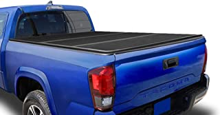 Tyger Auto T5 Alloy Hard Top Tonneau Cover TG-BC5T1531 Works with 2016-2018 Toyota Tacoma | Fleetside 6' Bed | for Models with or Without The Deckrail System