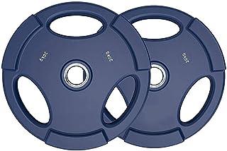 Barbell Weight Plates Set,2.5KG/5KG/10KG/15KG/20KG/25kg Pair Weight Plates Colorful Barbell Weightlifting Plates for Home ...