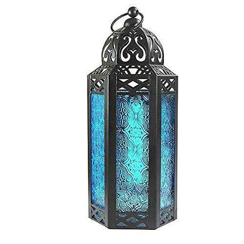 XUYH Mosaico De Vidrio Lámpara Impresionante Estilo Marroqui Oriental Lámpara Turca De Noche Vintage Lámpara De Mesita con Motivos Orientales ámpara De Mesa(Dos Paquetes)