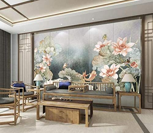 3D Pink Lotus 2426 Finally resale start Wall Paper Print Mural Self-A shopping Decal Deco