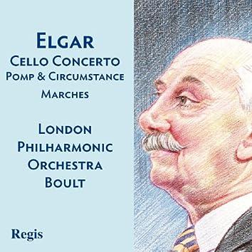 Elgar: Pomp and Circumstance Marches, Cello Concerto