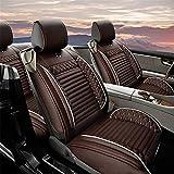 適用 Audi A3 車用 シートカバー レザー 防水 エプロンタイプ 前席 運転席 助手席 後部座席 5席 コーヒー色
