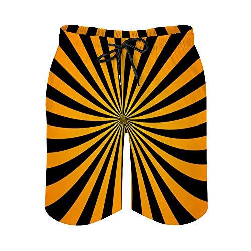 MayBlosom Pantalones cortos de playa para hombre, de secado rápido, para Mac enfermo, trajes de baño casuales hawaianos, trajes de baño con elástico