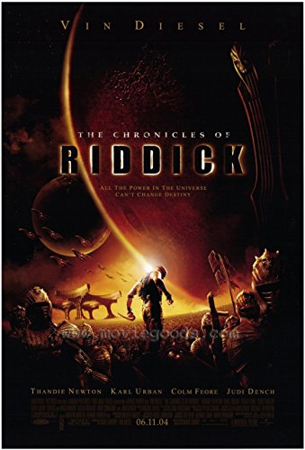 The Chronicles of Riddick Movie Poster (68,58 x 101,60 cm)