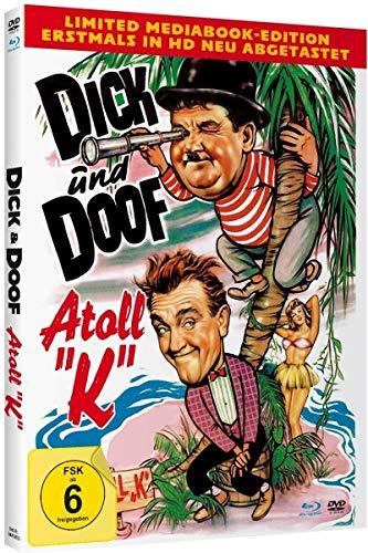 Dick und Doof`s Atoll K - Limited Mediabook-Edition (Blu-ray+DVD plus Booklet/HD neu abgetastet)