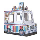 Melissa & Doug Food Truck Indoor Playhouse,Multicolored