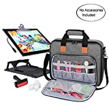 Luxja Carrying Bag for A4 Light Pad and Diamond Painting Tools, Protective Case for Diamond Painting Light Box and Accessories (Fits for A4 Light Pad), Gray (Bag Only)