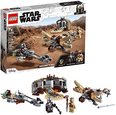 LEGO Star Wars The Mandalorian Trouble on Tatooine 75299 Awesome Toy Building Kit for Kids Featuring product image