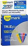 Sunmark Micro Thin Lancets 33 Gauge - 100 ct