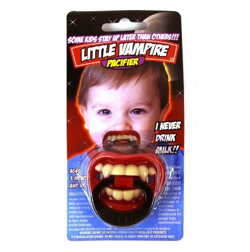 Generique - Tétine Petit Vampire bébé Halloween