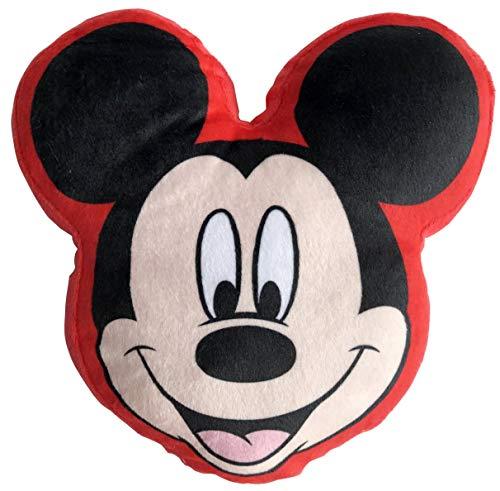 LYO Disney - Cojín con diseño de Mickey (20 cm), Color Negro