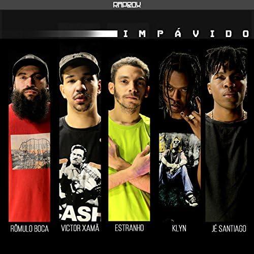 Rômulo Boca, Victor Xamã, Estranho, KLYN, Jé Santiago & Rap Box