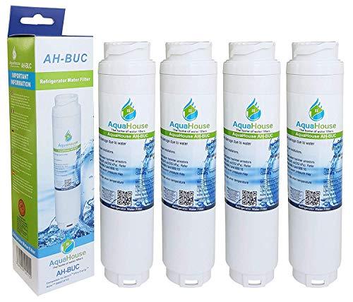 4X AquaHouse compatibel waterfilter voor Bosch Ultra Clarity 644845, Neff, Siemens, Miele, Gaggenau koelkast