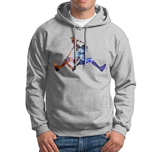Chelsse Sudadera Kick Scooter Hoodie Sweatshirts Mens Fleece Sweater