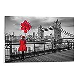 Heiwu Anatolische Tower Bridge Poster, dekoratives