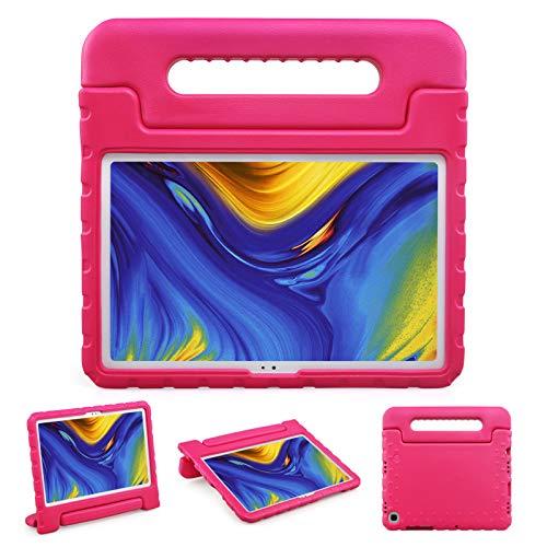 BelleStyle Funda Niños para Samsung Galaxy Tab A7 10.4 Pulgada SM-T500 SM-T505 SM-T507 2020 Tableta, A Prueba de Choques Ligero Estuche Protector Manija Caso Soporte para Galaxy Tab A7 10.4' (Rosa)