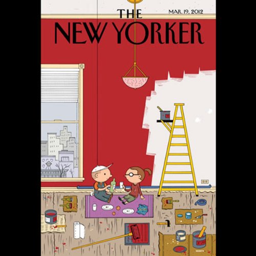 The New Yorker, March 19th 2012 (Francisco Goldman, David Owen, Sasha Frere-Jones) cover art