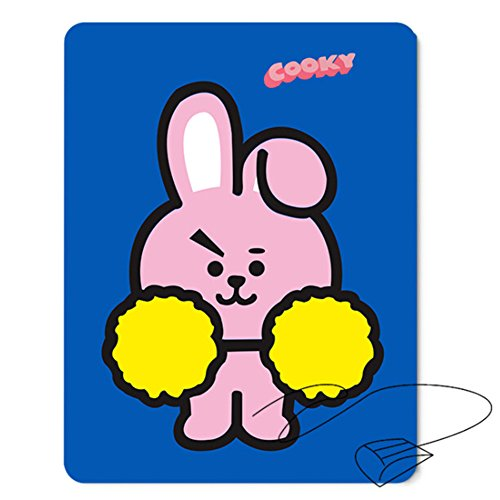 Skisneostype Kpop Cartoon Mouse Pad MAP of The Soul: Persona Mousepad rechteckig für A.R.M.Y Tata, Chimmy, Shooky, Cooky, RJ, Mang, Koya(H02)