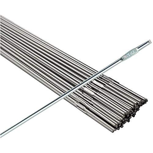 LOKIH 316L -TIG Acero Inoxidable de Soldadura Diámetro de la Varilla: Peso de 1 mm / 1,2 mm: Longitud 1kg: 1000mm,316L 1mmx1000mm