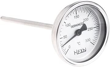 4PT-Gewinde L = 100 mm 0~50 ~ 300 ℃ WSS-303 A0127 Edelstahl-Bimetall-Thermometer 1