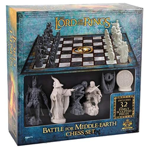 The Noble Collection Batalla de ajedrez de El Señor de los Anillos para la...
