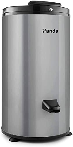 Panda PANSP23B Spin Dryer for Swimsuits and Laundry, Water Extractor, Gray