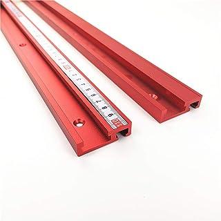 45 mm aluminiumlegering spår glidtryck, elektrisk cirkelsåg flippbord, DIY snickeri handverktyg, röd T-skena, 45 typ T-spå...