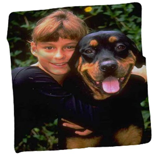 Personalized Photo Throw Fleece Blanket 50' x 60'. Customized and Made from Your Photos. Soft, Cuddly, Warm and Plush - Photo Throw Fleece Blankets can be Personalized with Multiple Pictures