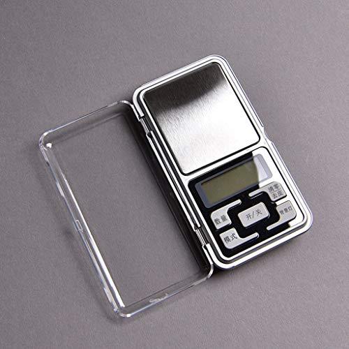 MENGQ Küchenwaagen Tragbare Lebensmittelwaagen Digitale Elektronische Waagen Schmuck Genannt