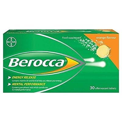 Berocca Effervescent Orange Tablets 30 per Pack