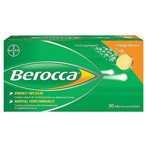 Berocca Effervescent Orange Tablets 30 per pack by Berocca