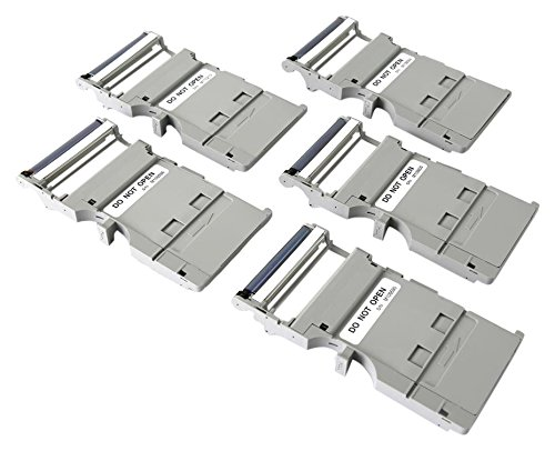 Pickit Printer Replacement Cartridge Set - 5 Cartridges with 10 Prints Each - Compatible with PICKIT20, PICKIT21RD and PICKIT M2 - SereneLife PRTPICKET23
