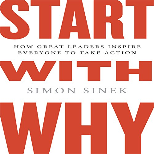 Start with Why audiobook cover art