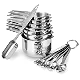 13-piece Measuring Cups and Spoons...