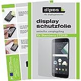 dipos I 2X Schutzfolie matt kompatibel mit BlackBerry DTEK60 Folie Bildschirmschutzfolie