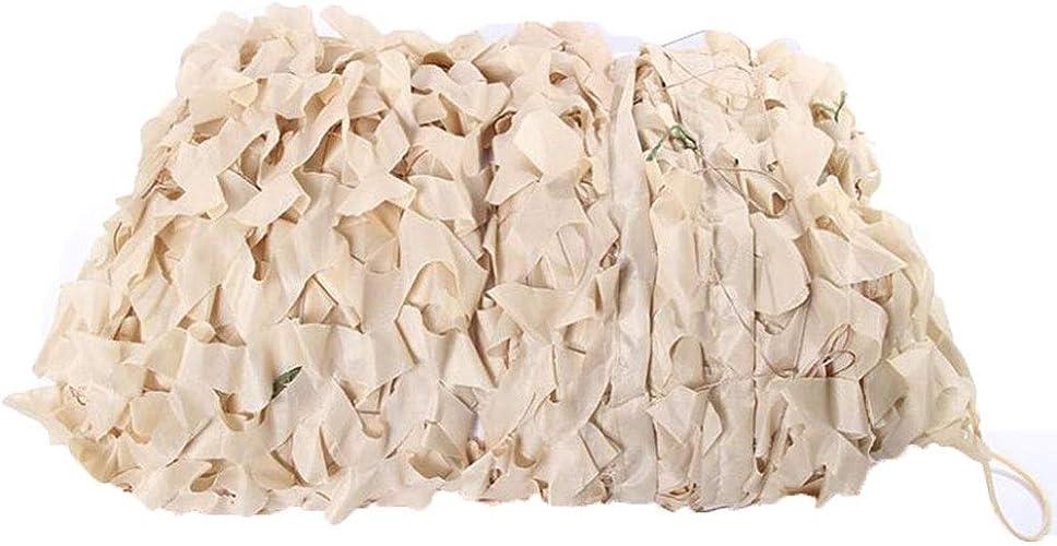GDMING Filet De Camouflage Filets De Camping Conception De Stores Grille Fixe Emballage De Bord Facile à Porter Tissu Oxford, 38 Tailles (Couleur   Blanc, Taille   5x5m)